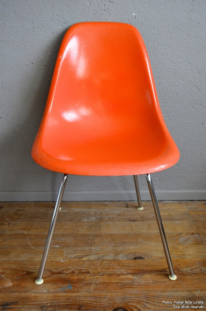 Chaises Charles & Ray Eames DSX