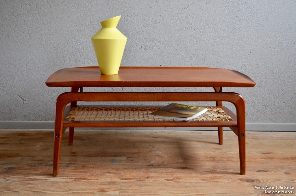 Table basse arne hovmand olsen l 39 atelier belle lurette for Table scandinave soldes