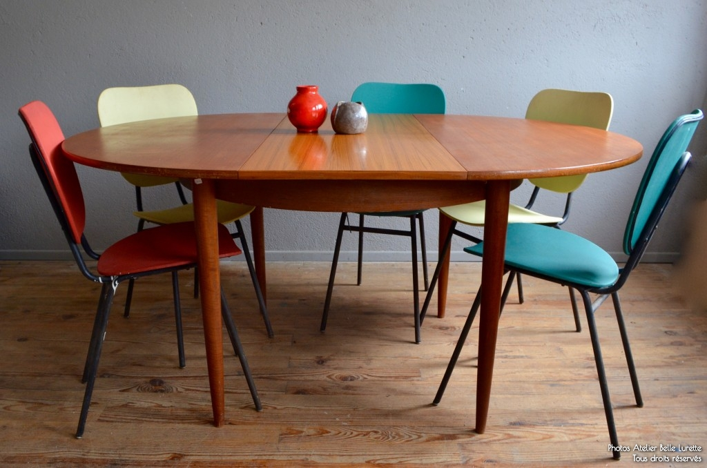 Table scandinave antja l 39 atelier belle lurette for Table ronde a rallonge scandinave