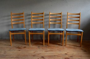 Chaises scandinave vintage rétro années 70 design danois antic scandinavian chairs seventies niels koefoeds