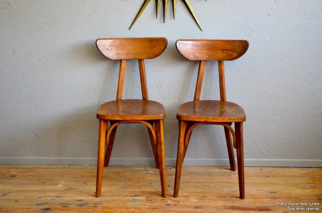 Paire de chaises Marcelle