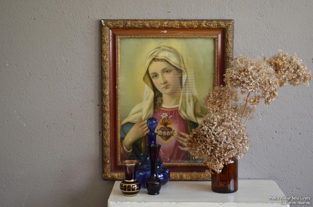 Tableaux religieux Jésus & Marie