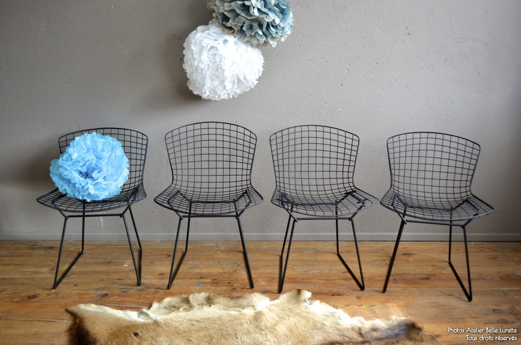 top chaise bertoia side chair annes chaise mtal design soldes with bertoia chaise - Chaise Bertoia