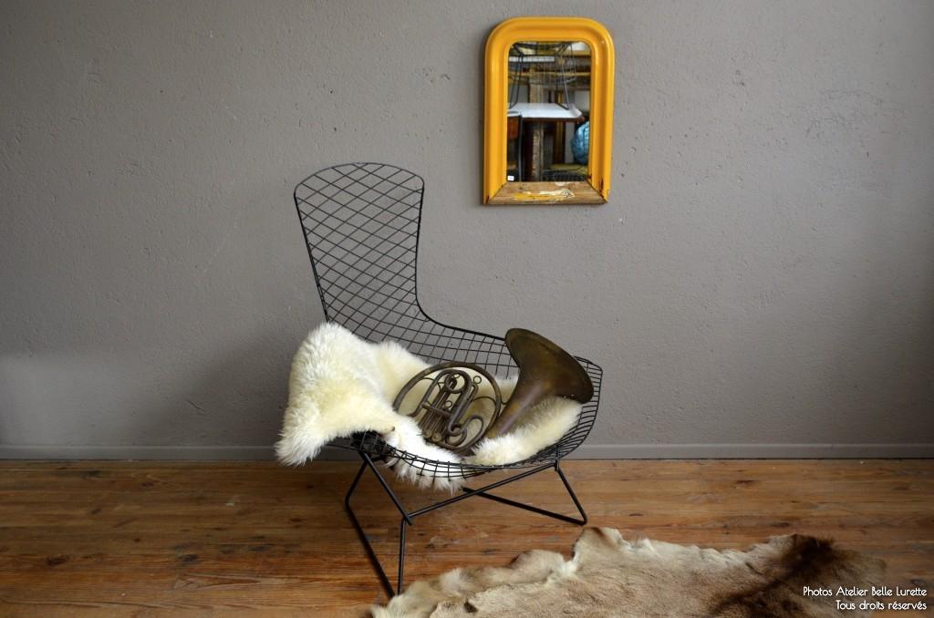 Fauteuil Bertoia Bird Latelier Belle Lurette Rénovation De