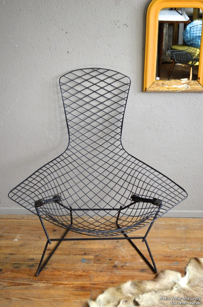 fauteuil bertoia bird l 39 atelier belle lurette r novation de meubles vintage. Black Bedroom Furniture Sets. Home Design Ideas