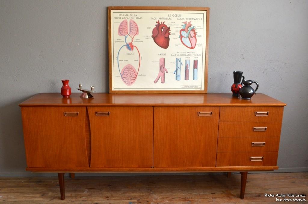 enfilade miranda l 39 atelier belle lurette r novation de meubles vintage. Black Bedroom Furniture Sets. Home Design Ideas