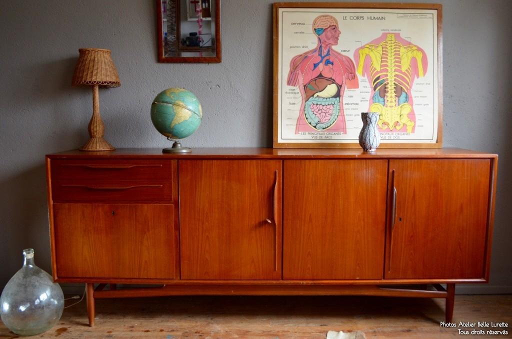 Enfilade Petra   L\'atelier Belle Lurette, rénovation de meubles vintage