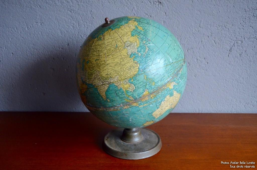 Globe Terrestre Cram's