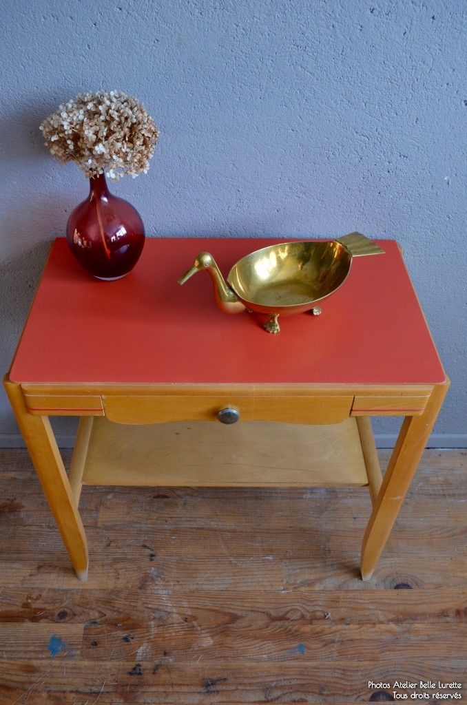 gu ridon aubin l 39 atelier belle lurette r novation de meubles vintage. Black Bedroom Furniture Sets. Home Design Ideas