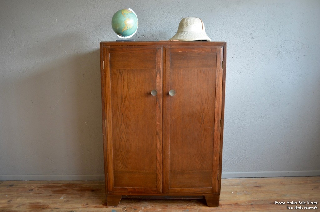 Armoire clayton l 39 atelier belle lurette r novation de meubles vintage - Renovation meuble vintage ...
