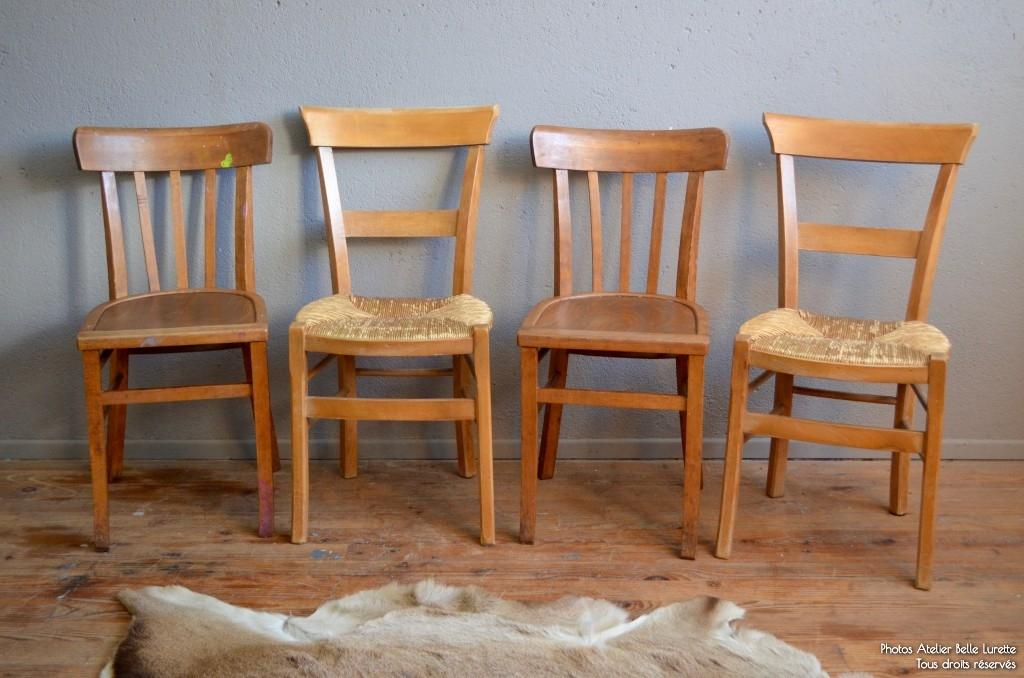 chaises bistrot tania l 39 atelier belle lurette. Black Bedroom Furniture Sets. Home Design Ideas
