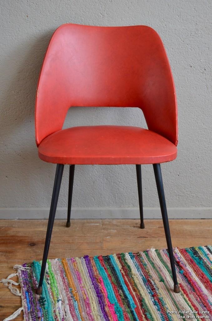 chaise evana l 39 atelier belle lurette r novation de meubles vintage. Black Bedroom Furniture Sets. Home Design Ideas