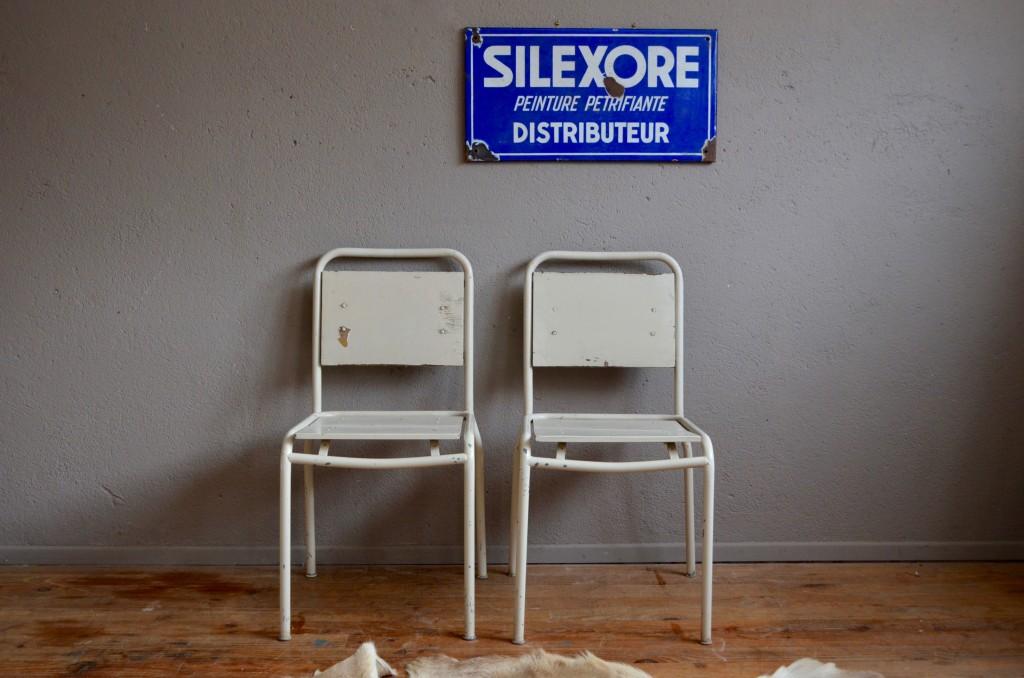 Paire de chaises Amandine
