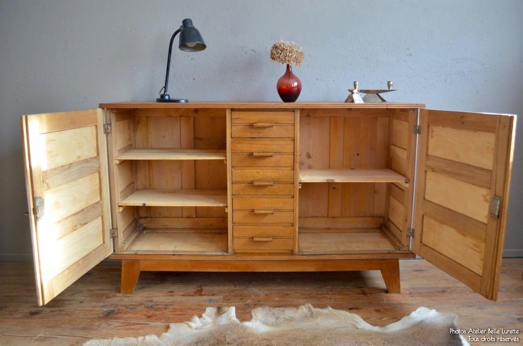 bahut ren gabriel l 39 atelier belle lurette r novation de meubles vintage. Black Bedroom Furniture Sets. Home Design Ideas