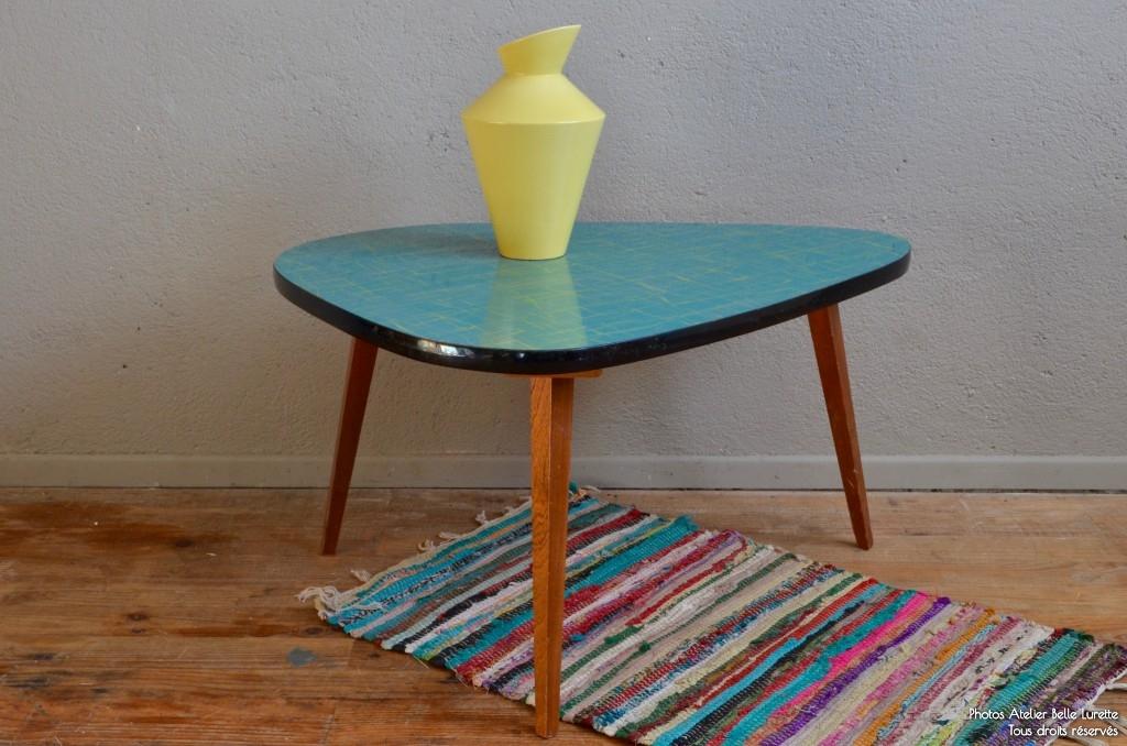 Table tripode Zita | L\'atelier Belle Lurette, rénovation de meubles ...