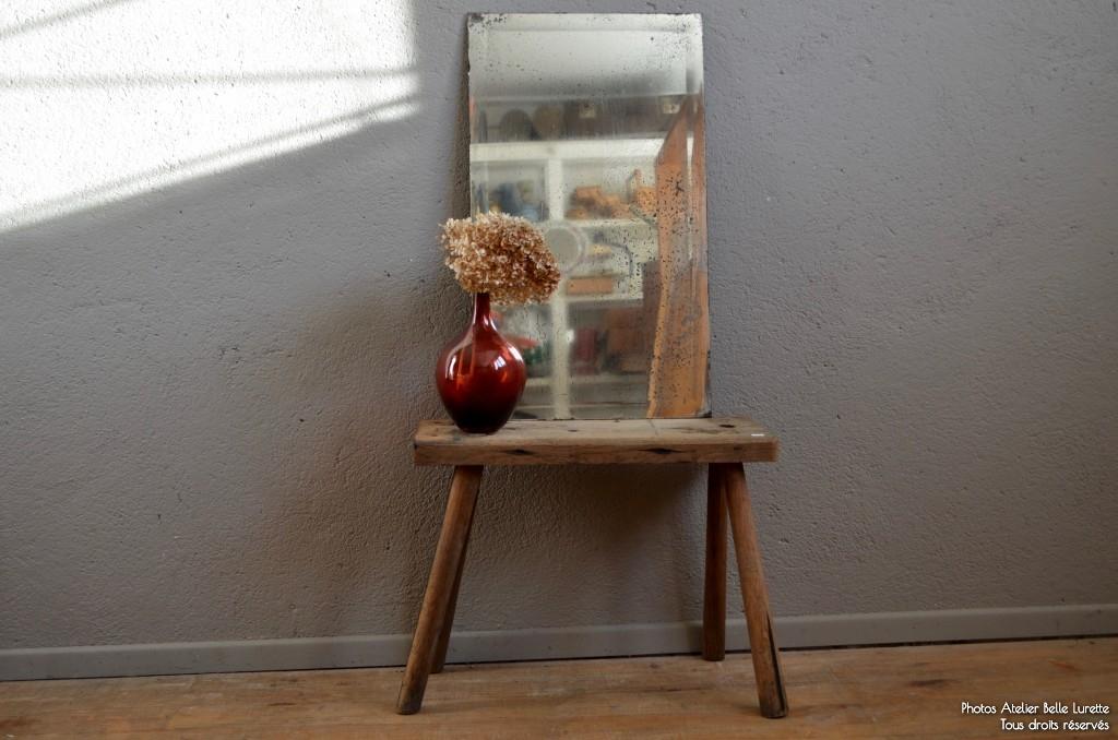miroir louison l 39 atelier belle lurette r novation de meubles vintage. Black Bedroom Furniture Sets. Home Design Ideas