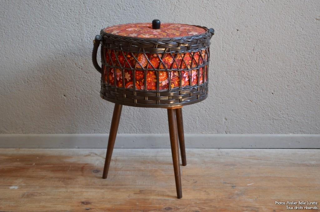 travailleuse yvonne l 39 atelier belle lurette r novation de meubles vintage. Black Bedroom Furniture Sets. Home Design Ideas