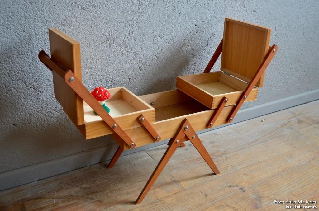 travailleuse miranda l 39 atelier belle lurette r novation de meubles vintage. Black Bedroom Furniture Sets. Home Design Ideas