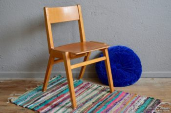 Chaise enfant mobilier chair chaises chairs kid Marcel Gascoin, Friso Kramer, Guariche, moderniste, mobilier enfant, école, vintage, année 50