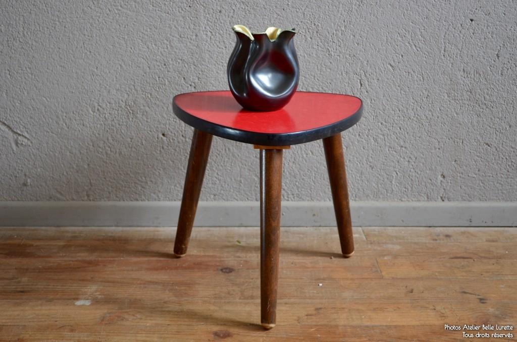 table tripode martha l 39 atelier belle lurette r novation de meubles vintage. Black Bedroom Furniture Sets. Home Design Ideas