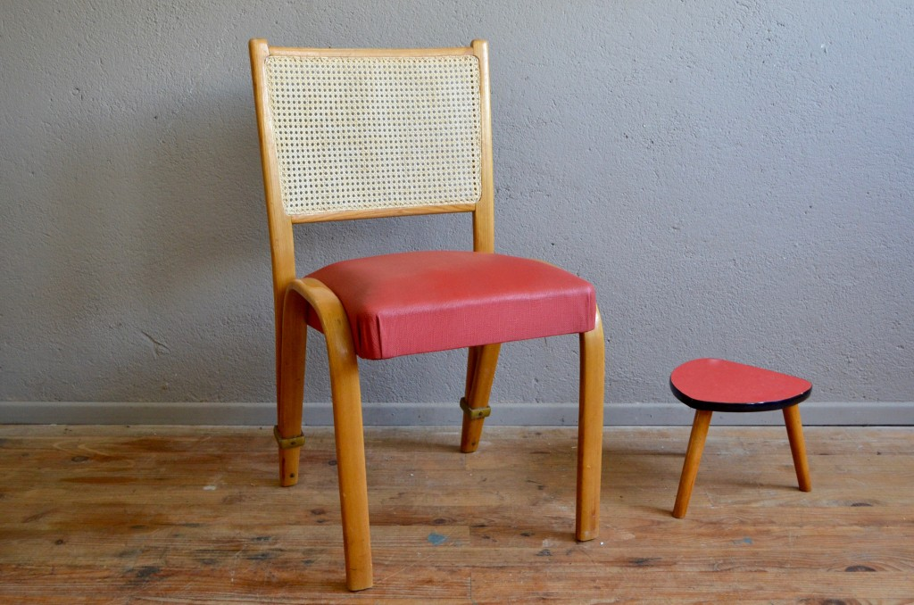 """Chaise """"Bow Wood"""" Steiner"""