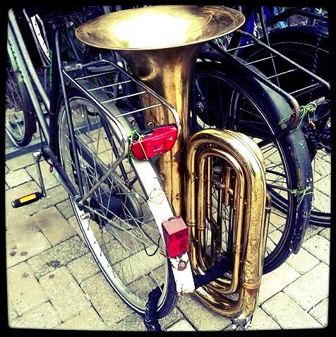 Chiner à vélo