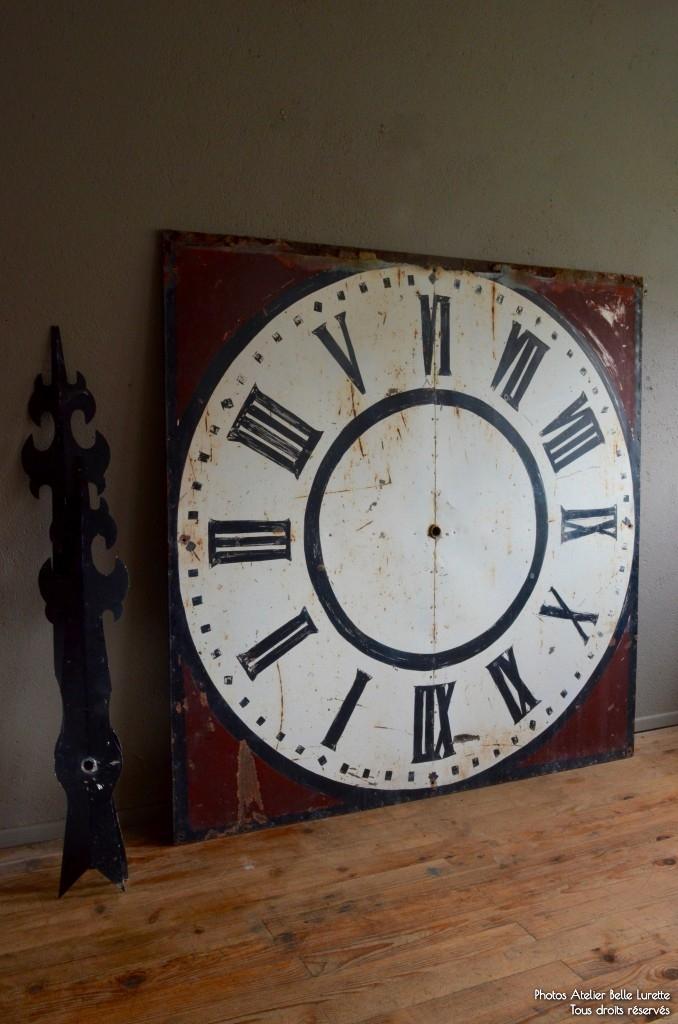 Horloge angelo l 39 atelier belle lurette r novation de for Horloge atelier