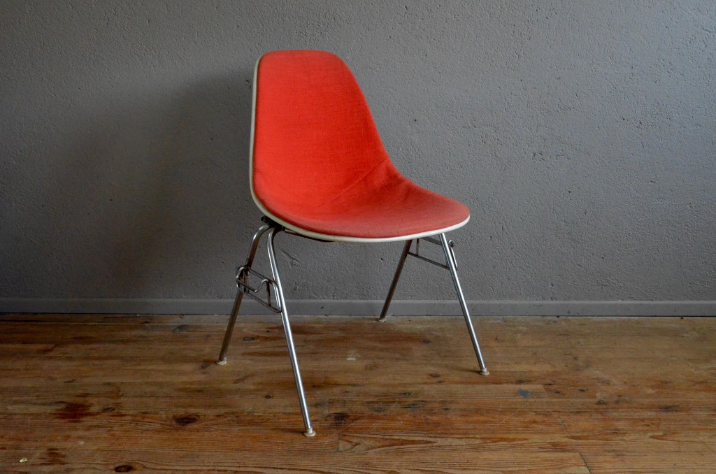 Chaise charles ray eames dsx l 39 atelier belle lurette for Soldes chaises eames