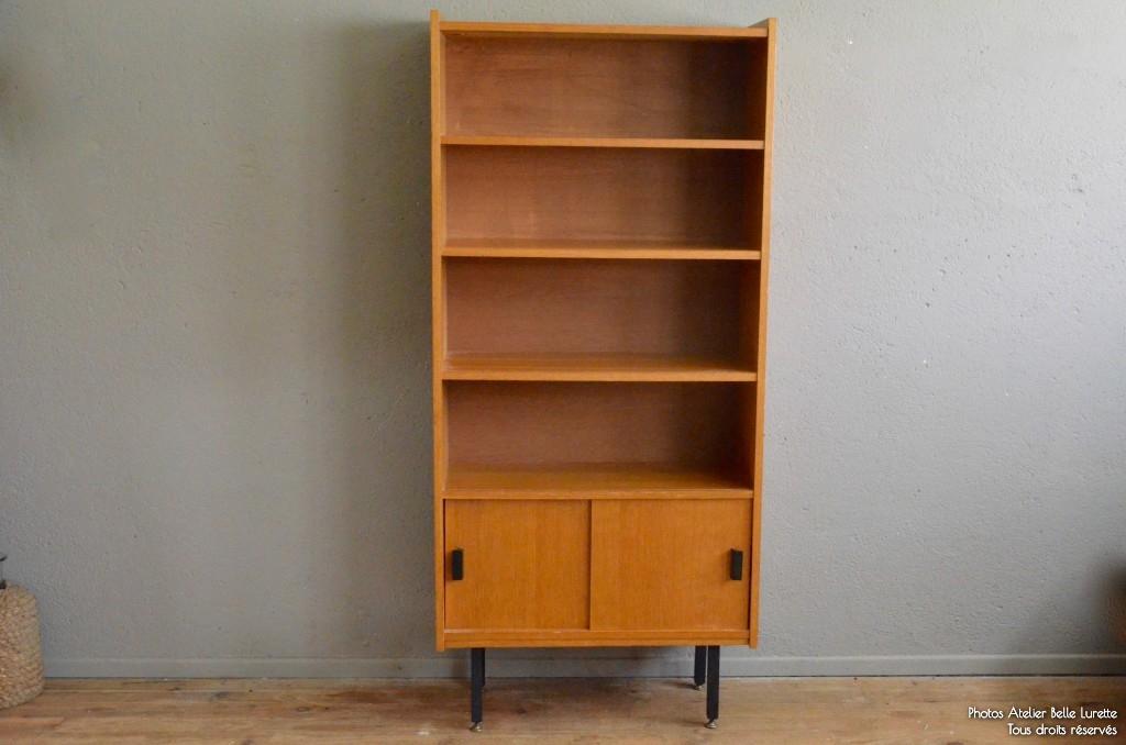biblioth que lil l 39 atelier belle lurette r novation de meubles vintage. Black Bedroom Furniture Sets. Home Design Ideas