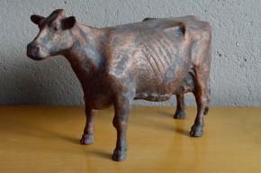 Bronze animalier vache  statue sculpture post modernisme Curtis Jeré Evans memphis  primitif français Pierre-Jules Mène Isidore Jules Bonheur