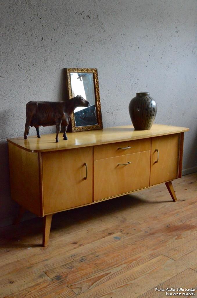 Enfilade Poema | L\'atelier Belle Lurette, rénovation de meubles vintage
