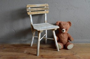Chaise enfant vintage rétro bohème gispy chic boho ferme campagne primitif kid chair paysan