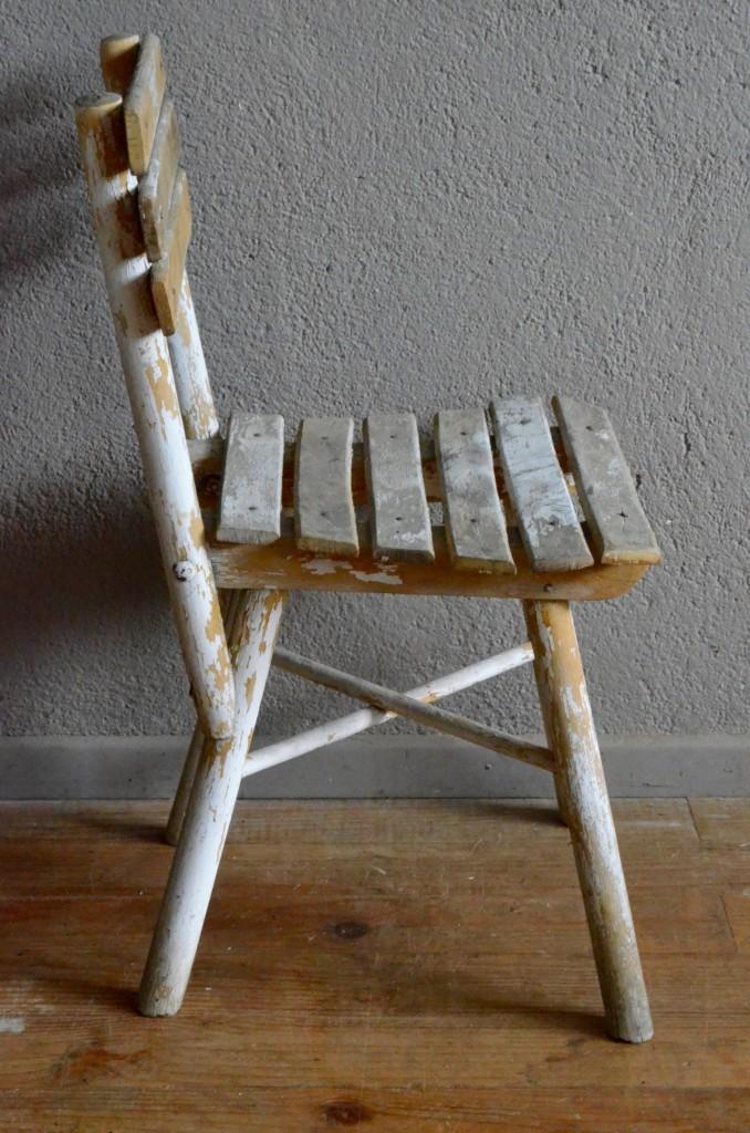 Chaise Enfant Vintage Rtro Bohme Gispy Chic Boho Ferme Campagne Primitif Kid Chair Paysan