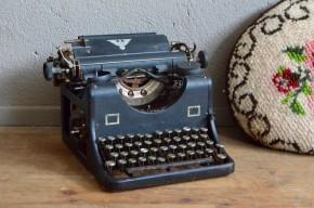 Machine à écrire Aigle objet déco rétro vintage original unique curiosité Olivetti Underwood Continental aigle ancienne