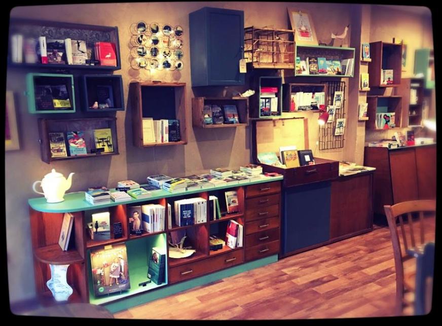 """Projet café-librairie """"La Libellule"""""""