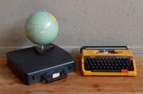 Machine à écrire vintage rétro années 70 enfant brother jouet