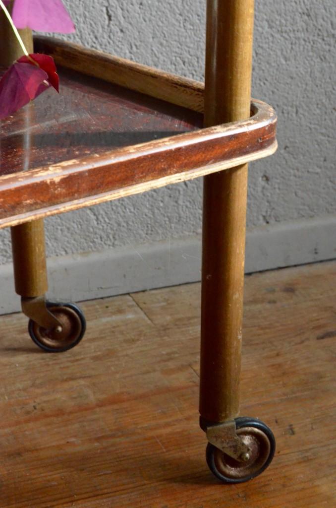 Desserte alpha roller l 39 atelier belle lurette - Meuble roller ...