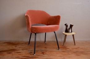 Fauteuil conférence de Eero Saarinen mobilier design administration Knoll années 50 vintage rétro scandinave antic armchair scandinavian design
