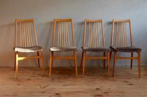 Chaises scandinaves vintage rétro teck années 60 Danemark scandinavian chairs mobilier benze Sitzmobel