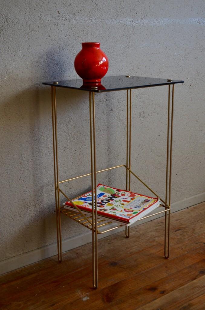 console ariane l 39 atelier belle lurette r novation de meubles vintage. Black Bedroom Furniture Sets. Home Design Ideas