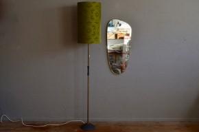 Lampadaire vintage rétro années 70 pop seventies lampe sur pied vintage rétro antic french lamp floor lamp