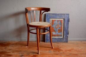 Fauteuil de bureau bois courbé assise Art déco 1920 bois vintage genre Baumann Fischel Thonet french Chair antik belle époque Loos