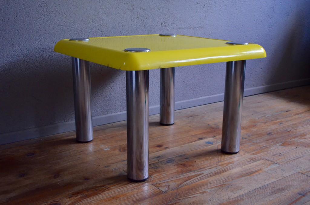 table basse joe colombo l 39 atelier belle lurette r novation de meubles vintage. Black Bedroom Furniture Sets. Home Design Ideas