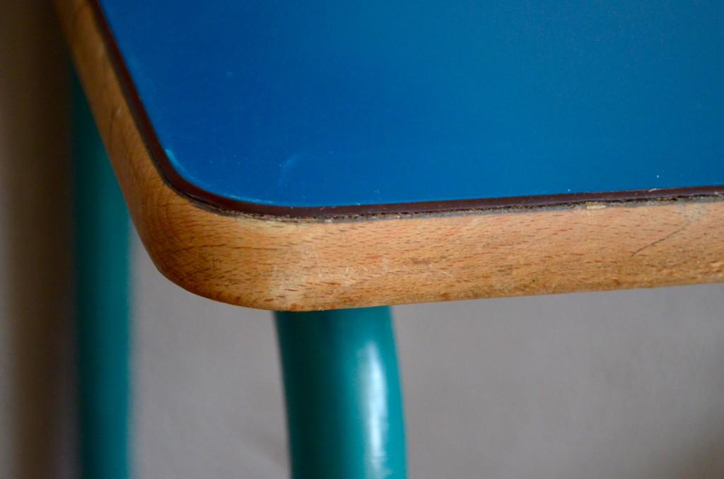 Bureau et chaise décole lazare « bleu roi » latelier belle