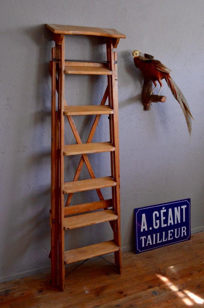 Les Fauteuils De Salon 2017 : Escabeau largo l atelier belle lurette rénovation de