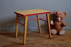 Premier Petit bureau enfant Baumann vintage rétro chambre d'enfant  idée cadeau naissance années 50 hêtre pupitre bois école