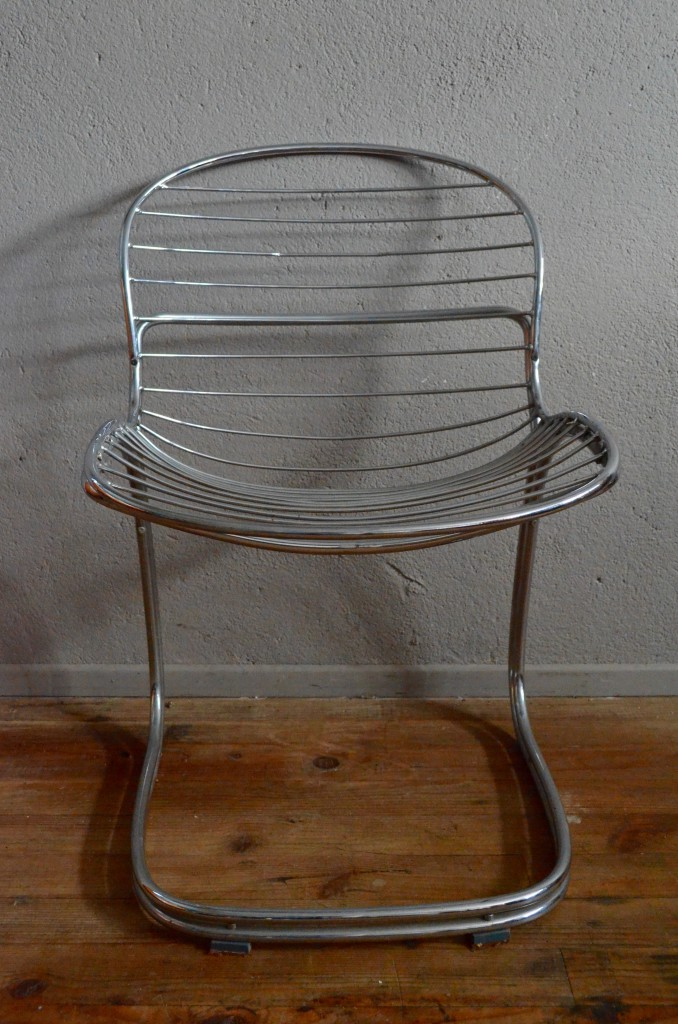 Chaise design italien 1970