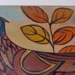 Peinture sur bois Le faisan