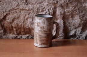 Tasse d'Alexandre Kostanda Vallauris poterie d'art céramique grès mug ancien collection