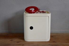 Element Componibili par Anna Anna Castelli Ferrieri pour Kartell plastique ABS design italien space age UFO